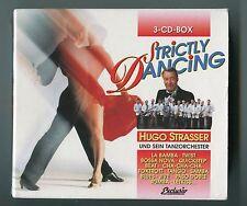 Hugo Strasser 3 CDs Box-Set STRICTLY DANCING 60s 70s 80s Jazz Latin Pop Big Band