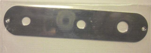 chrom Toggle Switch Göldo CPT3C Control-Plate für Tele