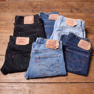 Vintage-Levi-Levis-Jeans-501-GRADE-A-Mens-Denim-Size-29-30-31-32-33-34-36-38-R4