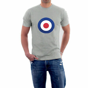 RAF-Roundel-T-Shirt-Mod-Target-Retro-Netherlands-Holland-Sillytees