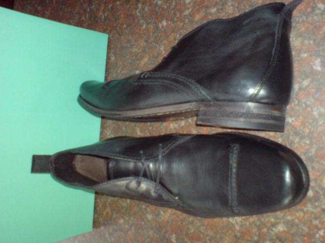 Clarks Herren Goto Hi schwarz Leder formelle Stiefel UK 8,9,10 g
