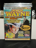 John Wayne Collection - The Early Years Collection (dvd) Roan Group Archival Dvd
