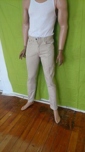 Levis Big E 911B Jeans White Vintage 31 X 32