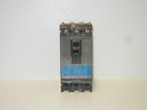 SIEMENS ED43B040 USED 40A 3 POLE CIRCUIT BREAKER ED43B040