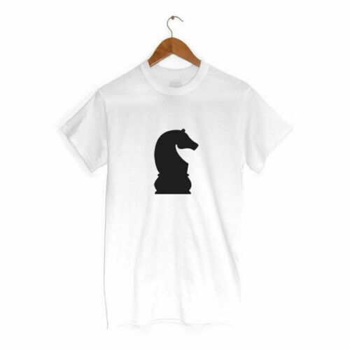 Knight Horse Chess Piece T Shirt MANY COLOURS Hipster Clothing