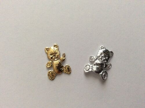 30 each of silver//gold Mini Satin teddy//teddies x 60