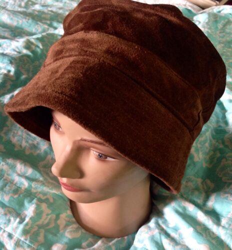 Vintage GAP 100% All Leather Bucket Boho Brim Hat