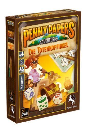 PENNY PAPERS ADVENTURES - DIE TOTENKOPFINSEL - Spiel - Pegasus - OVP