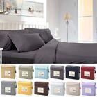 1800 Count Egyptian Comfort 4 Piece Deep Pocket Bed Sheet Set