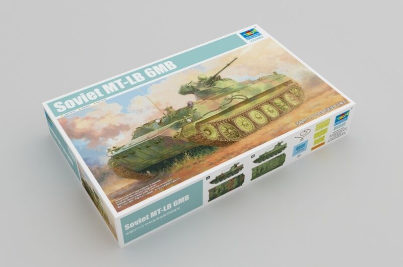 Trumpeter Soviet MT-LB 6MB Tank Armoruge Transport Car 05580 1 35 Scale Model Toy