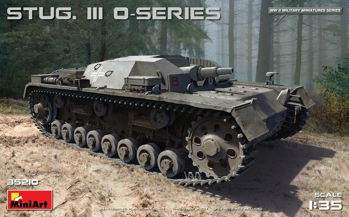 Miniart 1 35 Stug. III 0-Series