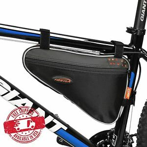 Image Is Loading Ibera Bike Triangle Frame Bag Front Top