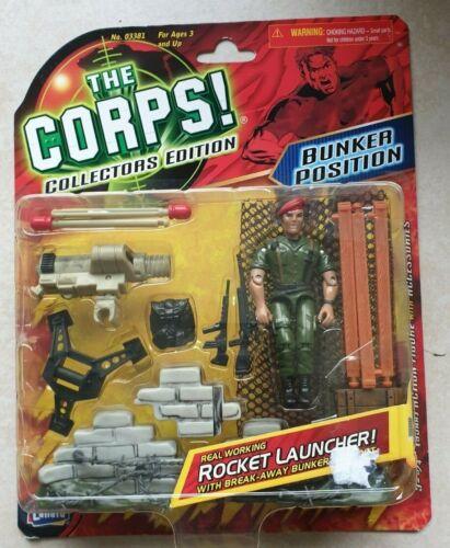Collectors Edition Lanard Rocket launcher The Corps Bunker position