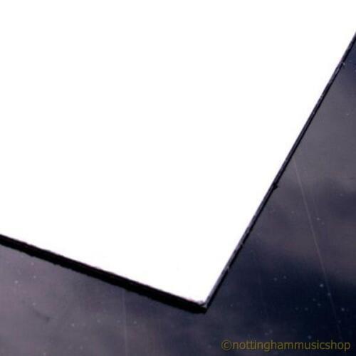 Guitar pickguard material 3 ply white-black-white 24x31cm ST size scratch plate