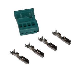 Stecker-4-polig-Reparatursatz-uncodiert-fur-BMW-61132359994-weiblich-Crimp
