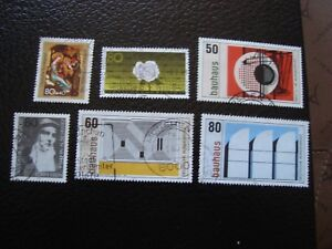Germany-Rfa-Stamp-Yvert-and-Tellier-N-993-A-998-Obl-A3-Stamp-Germany