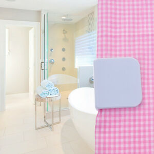 Image Is Loading 2pcs Magic Self Adhesive Anti Splash Shower Curtain