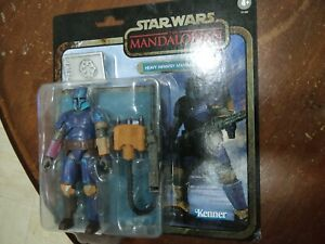 "Star Wars Vintage TVC 6"" Exclusive Credit Collection Heavy Infantry Mandalorian"