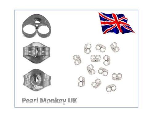 925 Sterling Silver 3 Circle Drop Dangle Earrings Stud Scroll Butterfly Fittings
