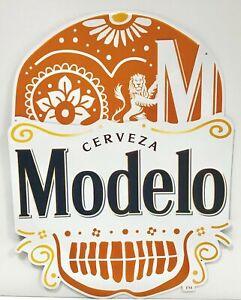 Modelo-Cerveza-Tin-Sign-Dia-De-Los-Muertos-Day-of-The-Dead-New-amp-F-S-24-x-18