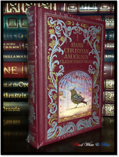 Hans Christian Andersen Illustrated Classic Fairy Tales Sealed Leather Hardback
