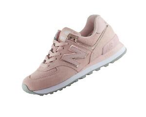 best service 4c3b6 c41a3 Details zu New Balance 574 Classics WL574MEC Rosa Damen Retro Lifestyle  Fashion Sneaker Neu