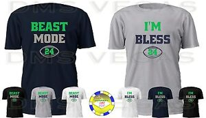 competitive price d9710 dee13 Image is loading Seattle-Seahawks-Marshawn-Lynch-Beast-Mode-I-039-
