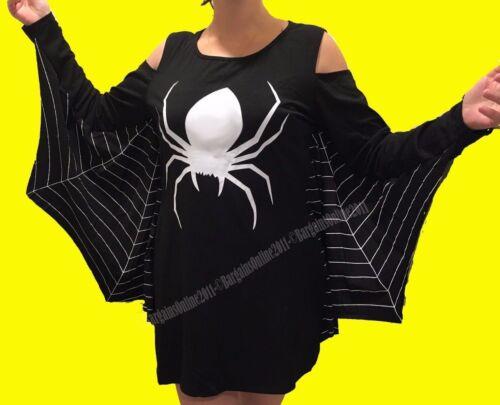 Ghost or Spiderweb Plus Size Jersey Dress Costume XL XXL 2XL XXXL 3XL