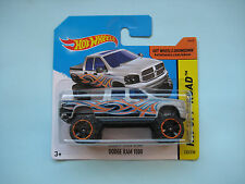Diecast Hotwheels HW Off-Road Dodge Ram 1500 Grey on Blister