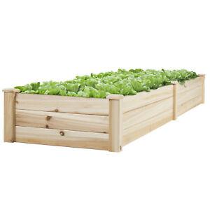 BCP-Wooden-Raised-Vegetable-Garden-Bed-Patio-Backyard-Grow-Flowers-Planter