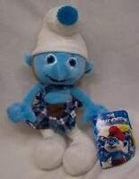 The Smurfs Gutsy Smurf Character In Kilt 13 Plush Stuffed Animal