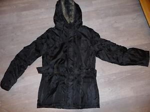 parka-manteau-veste-noir-taille-38-40-NEUF