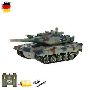 RC ferngesteuerter German Leopard 2 A6 Panzer, Modell mit Kampf-Funktion, Battle