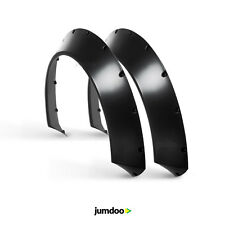 10cm FENDER FLARES 3.9in ABS PLASTIC WHEEL ARCHES WIDE OVERFENDERS UNIVERSAL