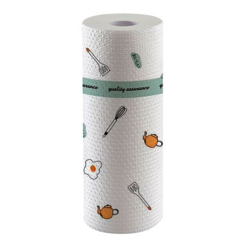 Household Kitchen Paper Towel Rolls 50 Full Sheets Per Roll Dry Unscented