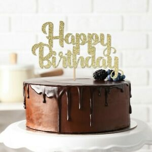 Terrific Personalised Happy Birthday Cake Topper Birthday Party Decorations Personalised Birthday Cards Paralily Jamesorg