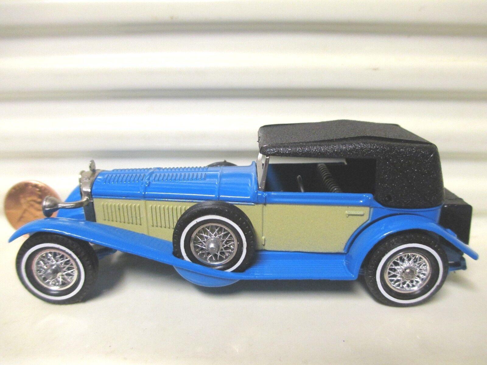 MATCHBOX LESNEY Models of yesteryear Y16 Bleu Mercedes Benz W palefawn panneaux