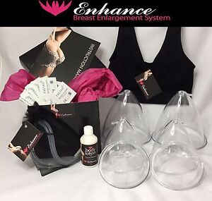 Enhance Breast Enlargement Bra System Breast Domes Cups