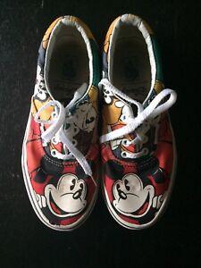 1500b7c89d Vans Era Disney Mickey Mouse - Disney   Friends Youth Size 2 Shoes ...