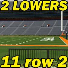2 LOWERS: Georgia Southern Eagles @ Auburn Tigers FOOTBALL 9/02 11row2