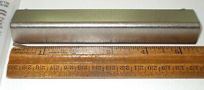 "3 inch Cylinder Pulls in Bedford Nickel Lot of 5 Martha Stewart Living 3/"""