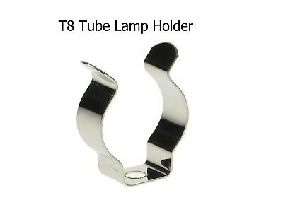 Alarm Led T8 Tube Light U Clips Tube Holder Tube Handle Wall Mounting Brackets 25 Pcs Non-Strijkservice