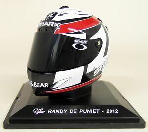 Altaya-1-5-Scale-Randy-De-Puniet-2012-Moto-GP-Helmet-with-Plinth-and-Case