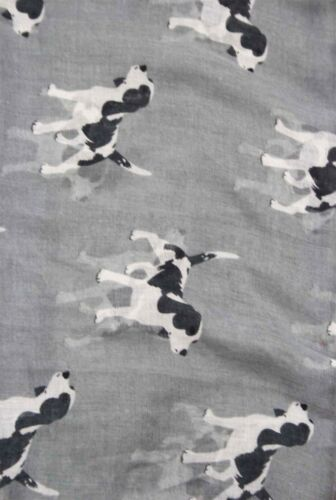 New animal chien mode imprimé foulard wrap Mousseline Étole Souple grande lumière UK