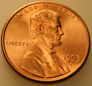 1981-P Lincoln Memorial Cent Uncirculated BU Red Penny Nice No Problem Coin