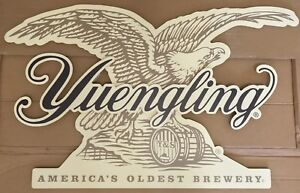 """Yuengling Brewing Good Times 190 Years Wood Beer Crate 17x12x10"""" Brand New RARE!"""