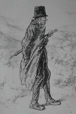 GAVARNI Lithographie originale série PHYSIONOMIES PARISIENNES - Un auteur ...