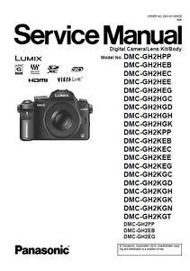 panasonic lumix dmc gh2 service manual repair guide