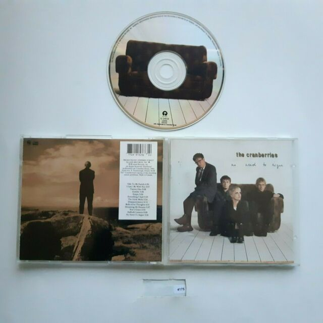 The Cranberries : No Need to Argue- CD