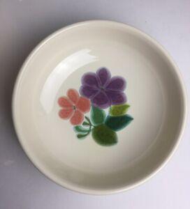 "Franciscan Ware ""Floral"" pattern, Cereal Soup Bowls Rare 1970's Vintage 2 ea"